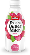 Frucht Buttermilch Himbeere