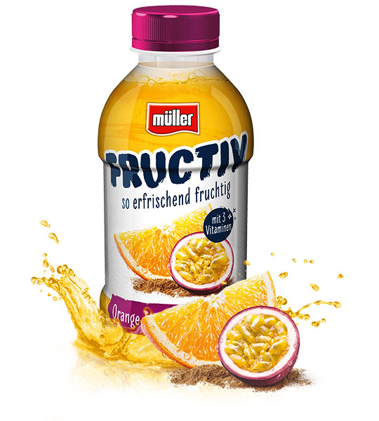 Fructiv Orange-Maracuja-Guarana