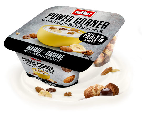 Power Corner Mandel-Banane